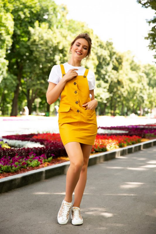 Buy Dress 05-23 - Yellow C 54