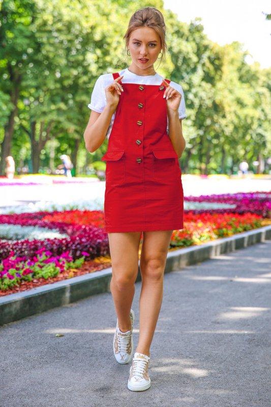 Buy Dress 05-23 - Red C 651
