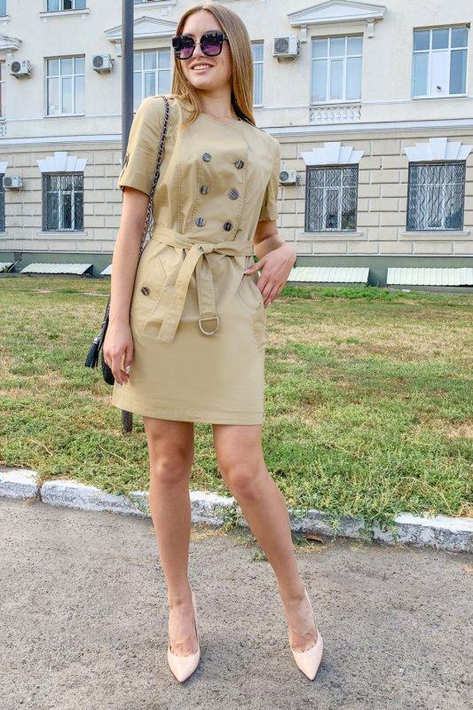 Buy Dress 06-23 - Beige No. 5001