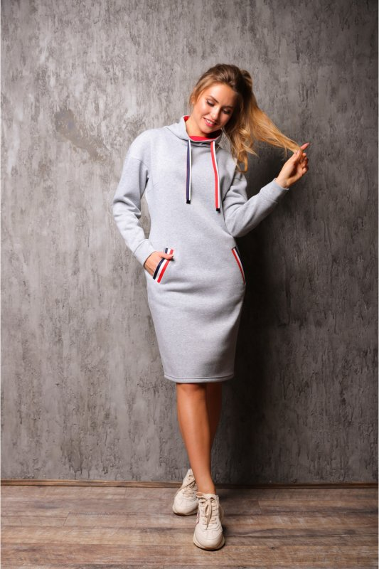 Buy Dress 06-46 - gray C24