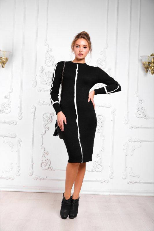 Buy Dress 06-47 - Black