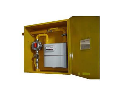 ШРП с регуляторами давления газа KHS, КРТГ, FE, M2R, RBI, B, DSR, FRG/2MBC и счетчиками газа G10 ВКТ