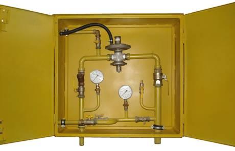 ШРП с регуляторами давления газа RBI 1200, 2000