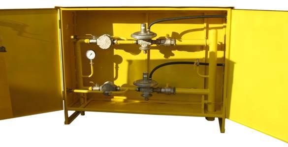 Купити ШРП з регуляторами тиску газу RBE 3212 (2 лінії)