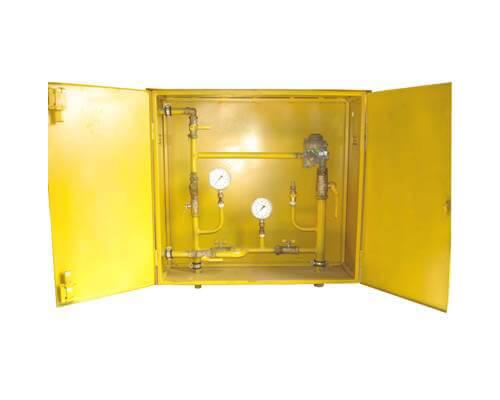 ШРП с регуляторами давления газа РТГ