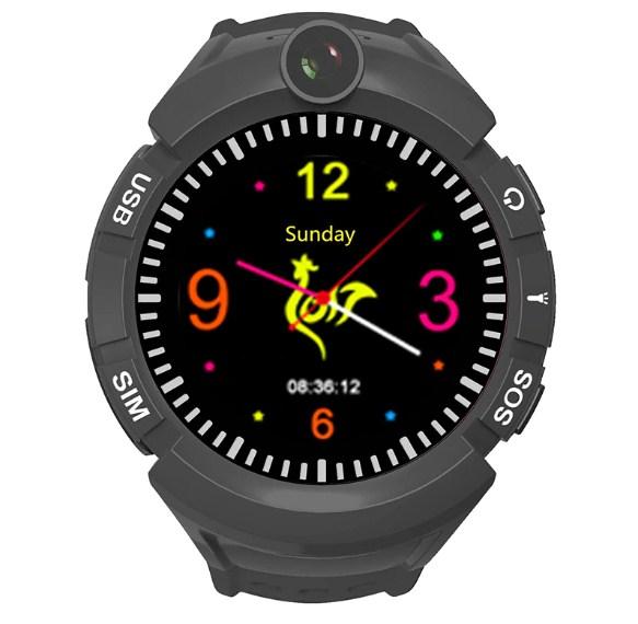 Оригинальные детские смарт часы с GPS WONLEX GW600 цвет серый