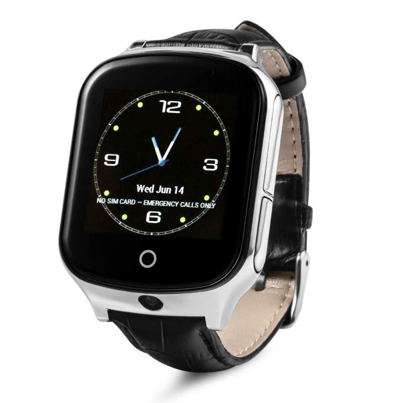 Купить Оригинальные детские смарт часы с GPS WONLEX GW1000s (T100) цвет черный