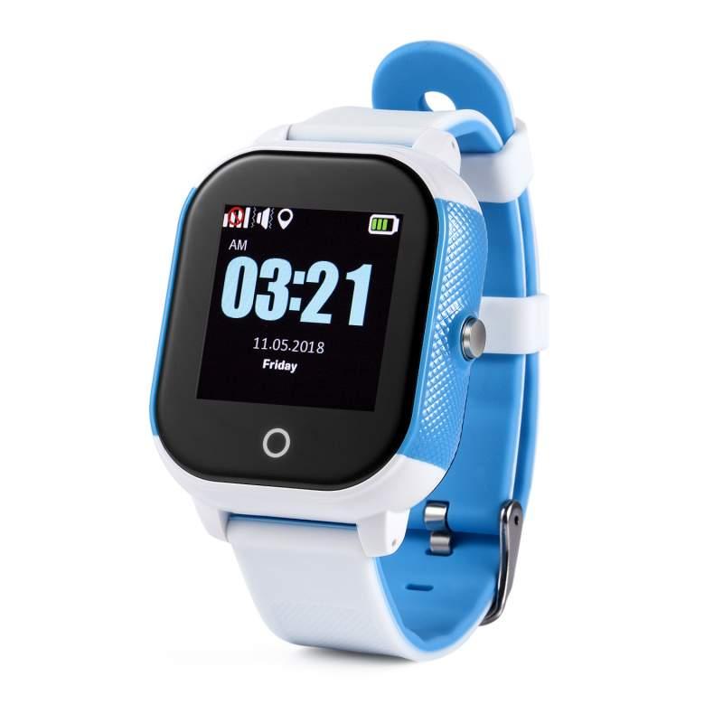 Оригинальные детские смарт часы с GPS WONLEX GW700S цвет голубой
