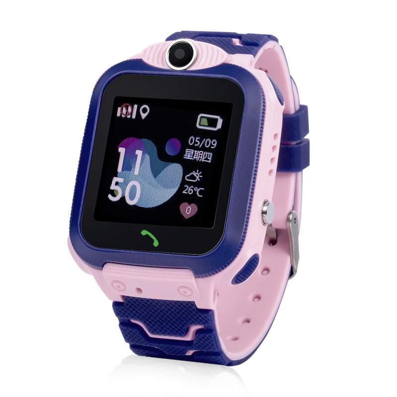 Оригинальные детские смарт часы с GPS WONLEX GW600S цвет розовый