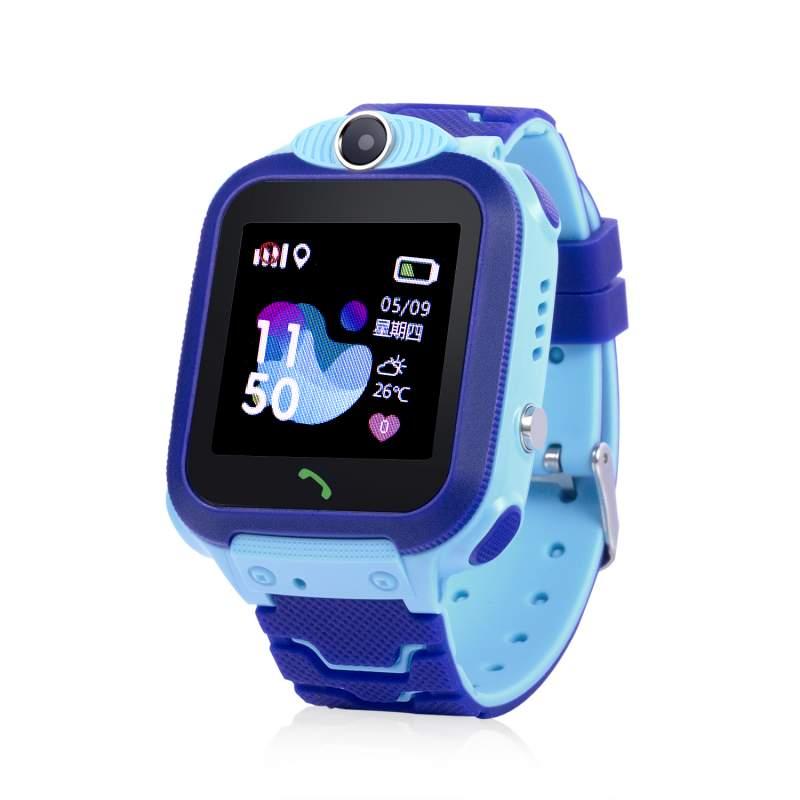 Оригинальные детские смарт часы с GPS WONLEX GW600S цвет голубой