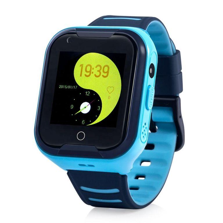 Купить Оригинальные детские смарт часы с GPS WONLEX KT11 цвет голубой