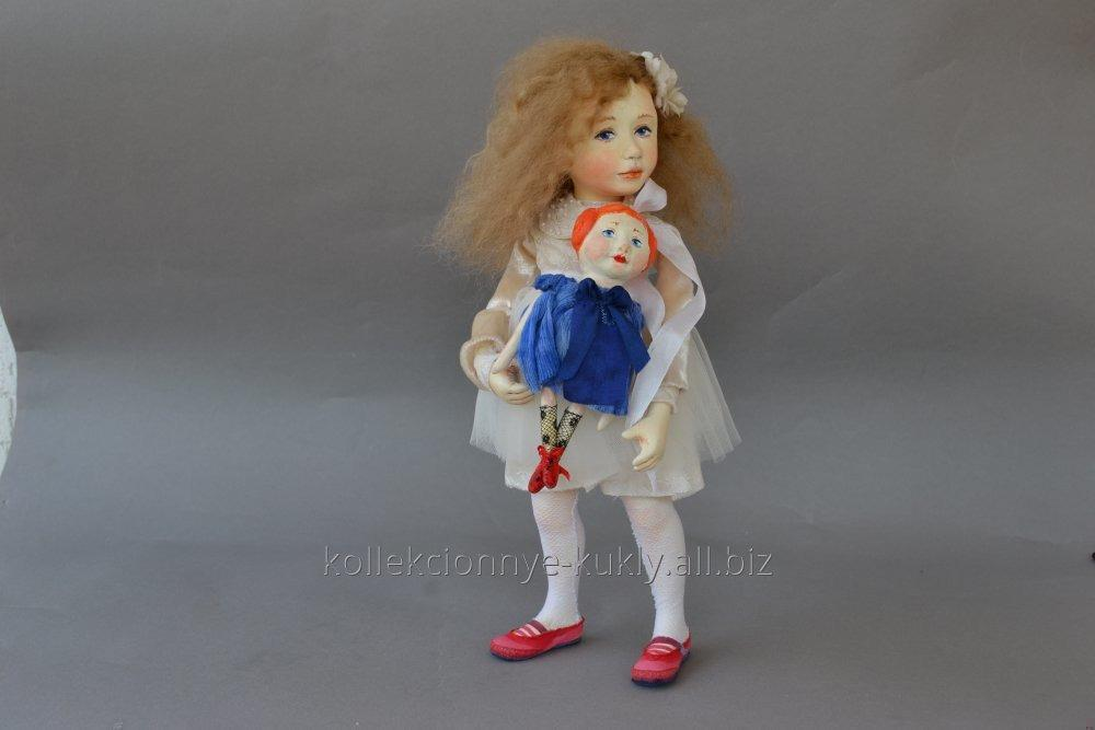 Купити Ексклюзивний подарунок для дівчини, Колекційна авторська лялька Балерина Вікторія
