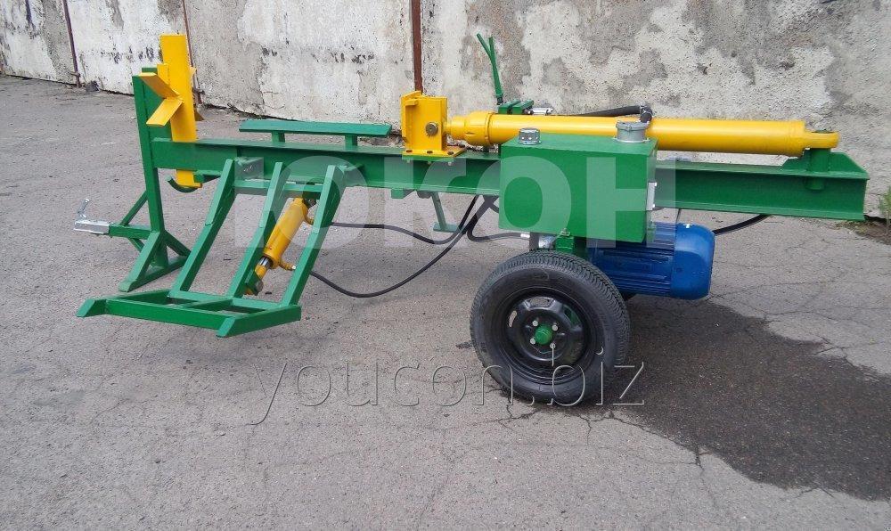 Гидроколун ГК-1000 (промышленный дровокол)