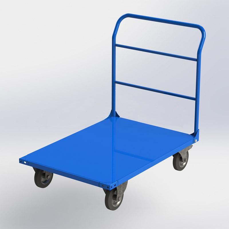 Тележка складска механическая платформенная , 350 кг