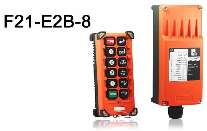 Купить Промышленное радиоуправление TELECRANE модель F21-E2В-8