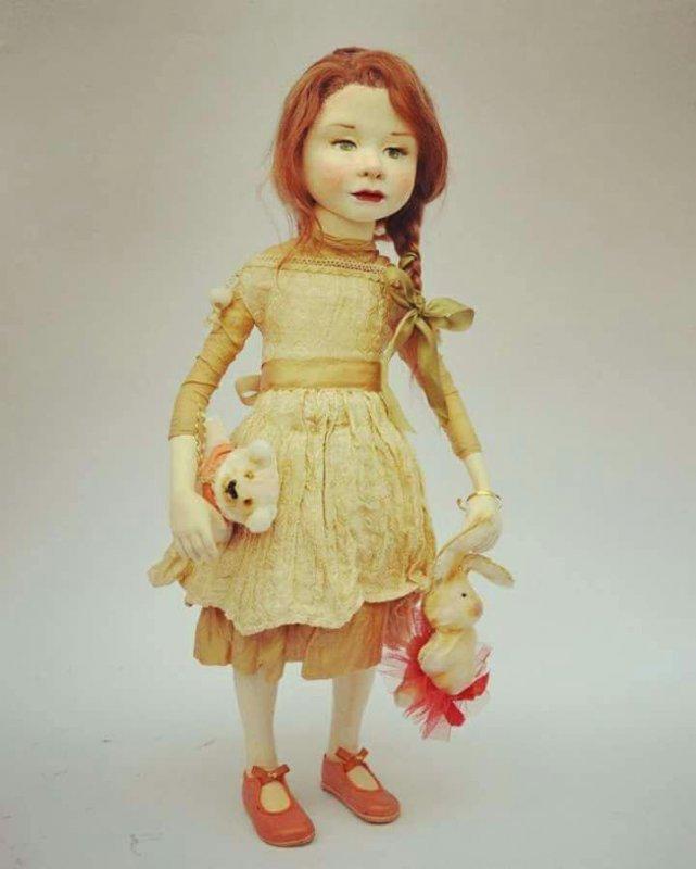 Купить Подарок авторская кукла Натали
