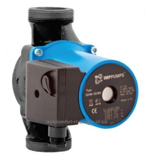 Купить Циркуляционный насос IMP PUMPS GHN 3х-скоростной, мокрый ротор
