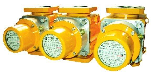 Счетчик газа роторный РГС-Ех 1:100 G16