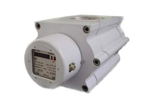 Роторный счетчик газа ТЕМП G25 Ду40 (Ду50) 1/100