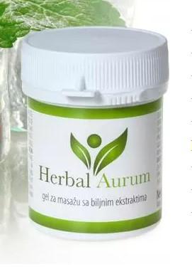 Buy Herbal Aurum (Herbal Aurum) - cream from joint diseases