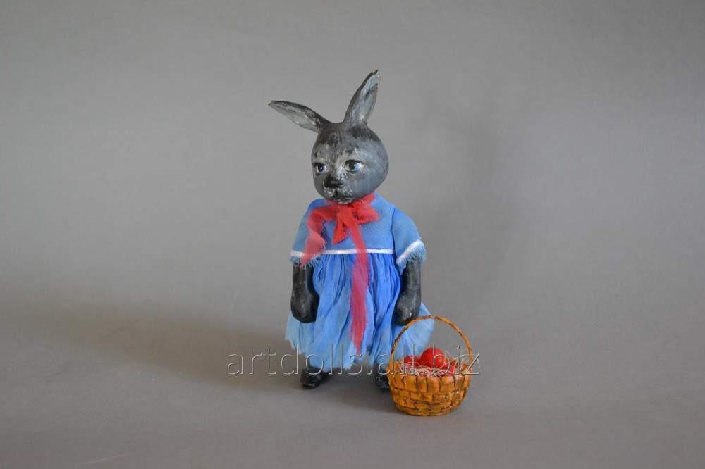 Купить Эксклюзивный подарок пасхальный кролик Фаина, коллекционная кукла