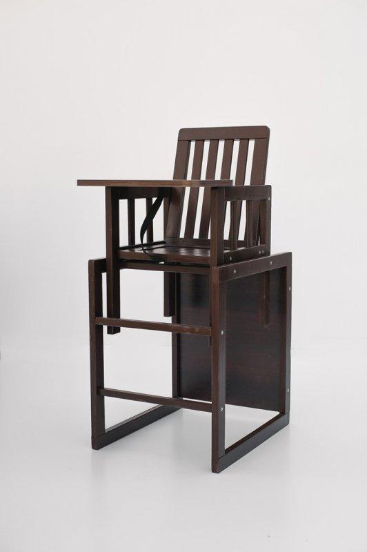 """Детский стульчик для кормления """"Малыш"""" шоколад M18-02 DESON"""