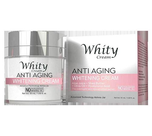 Vásárolni Whity Anti-Aging Cream (Whitey Anti-Age krém) - Krém fiatalító