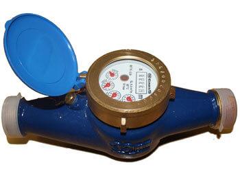 Cчётчик воды многоструйный крыльчатый Gross MTW-UA R80 DN50 (фланец)