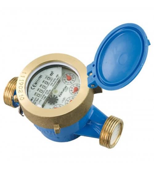 Одноструйный счетчик воды PoWoGaz JS-6,3 (ХВ) (Класс С/R160) DN25