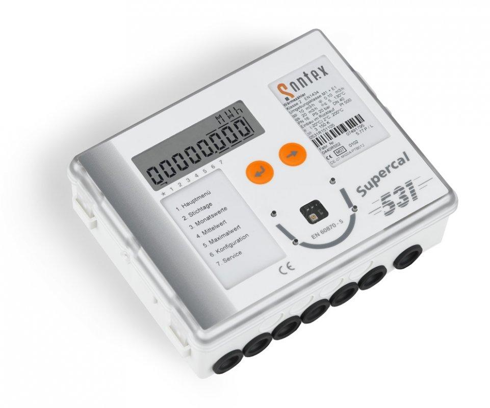Механический счетчик тепла (компактный) SUPERCAL 739 LB DB20 Q2,5