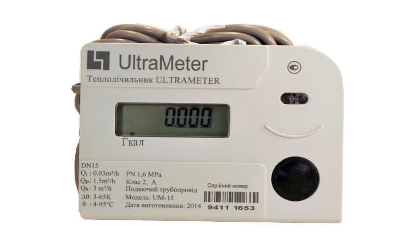 Счетчик тепловой UltraMeter-X (модельG) DN15 Qn 1,5 подача