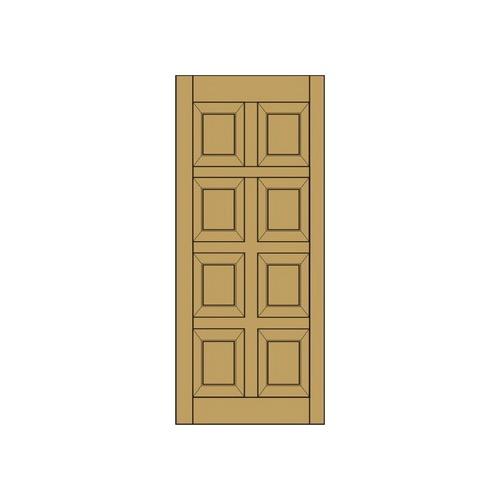 Купить Межкомнатная дверь из массива сосны 9