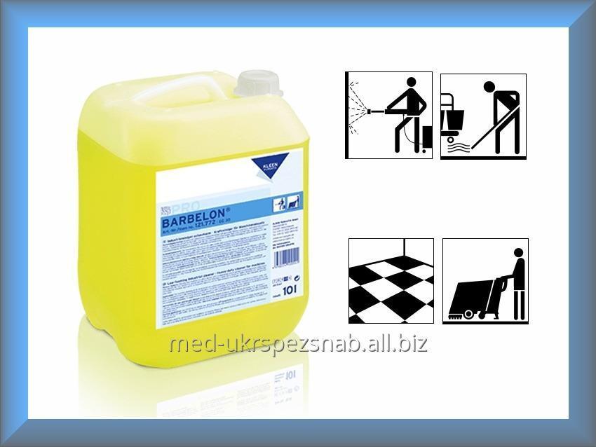 Купить KLEEN PURGATIS BARBELON слабощелочной низкопенный промышленный очиститель (10 Л)