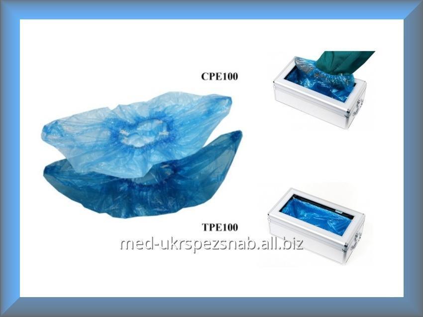 Купить Бахилы полиэтиленовые для Клинтопера ТPE100 50 пар