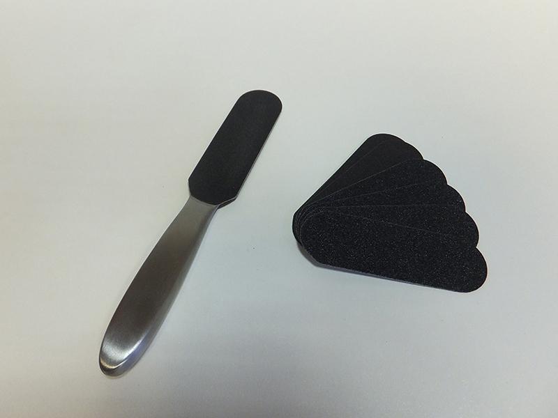 Купить Шлифовальная пилка для педикюра со сменными пластинами