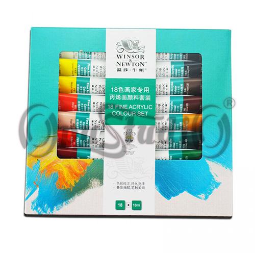 Купить Набор акриловых красок Winsor &amp- Newton 18 цветов