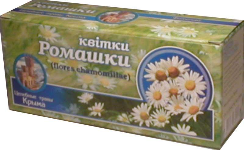 Купить Фиточай с цветками ромашки.