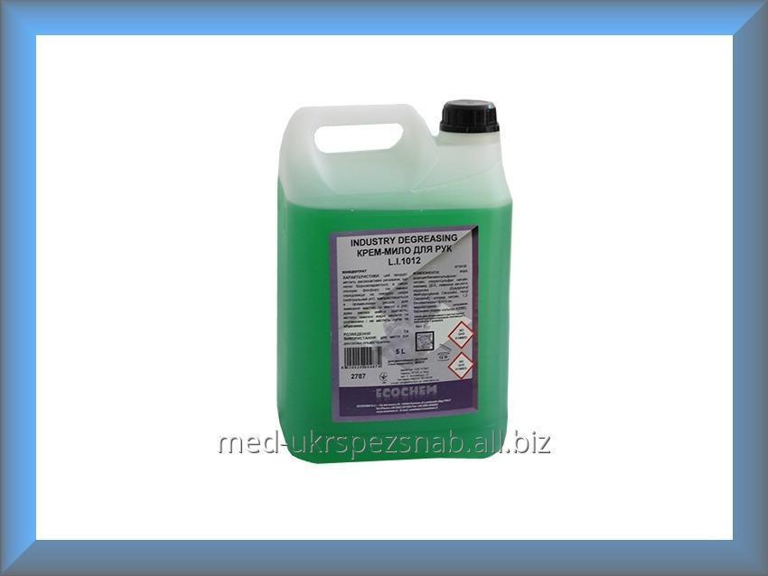 Купить Мыло-крем жидкое INDUSTRY DEGREASING L.I.1012 5л Ecochem