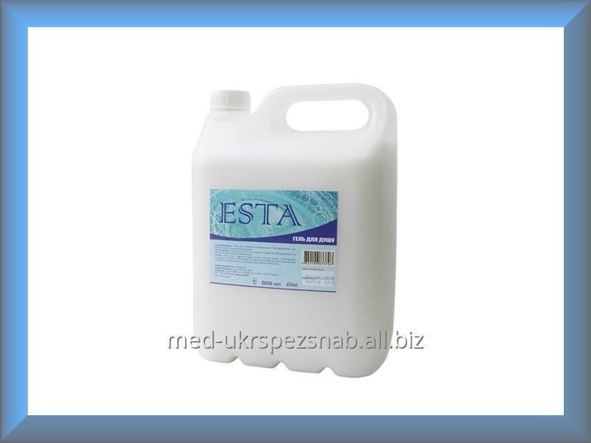 Купить Гель для душа белый ESTA 5л (молочный коктейль)