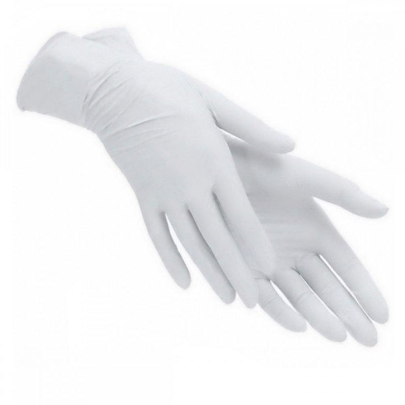 Купить Перчатки латексные в кор.опудр., 100шт.S (4015190000)