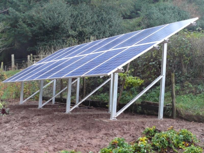 Купить Каркас крепление солнечных панелей электростанций