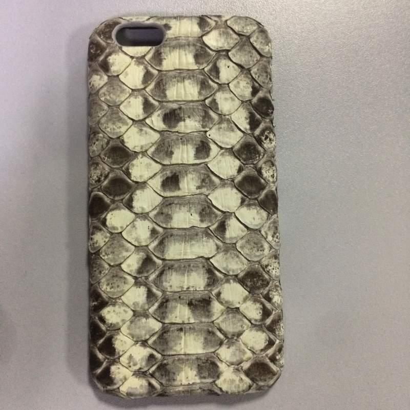 Чехол для мобильного телефона Apple iphone 6S натуральная кожа (кожа змеи)