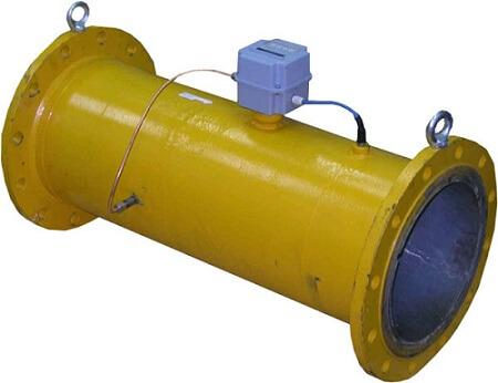 Счетчик газовый турбинного типа КВТ-1.01А- G 160-80 со встроенным устройством преобразования объема