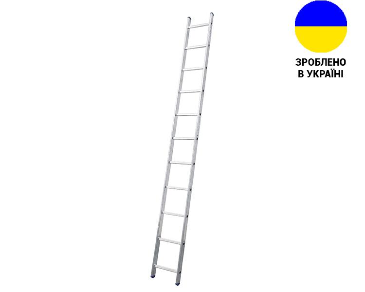 Купить Алюминиевая односекционная лестница 11 ступеней UNOMAX VIRASTAR