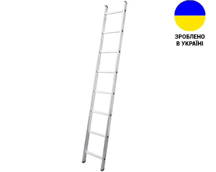 Купить Алюминиевая односекционная лестница 8 ступеней UNOMAX VIRASTAR