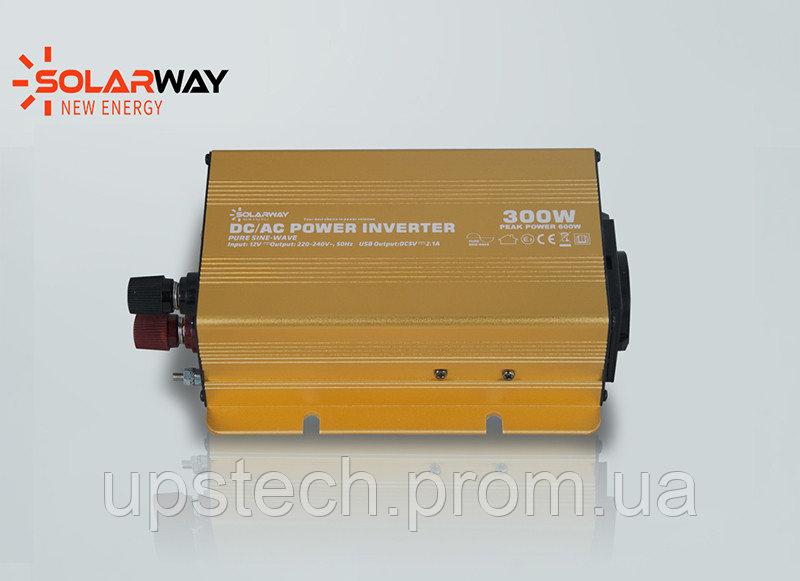 Купить Solarway 300W инвертор 12 вольт 220 вольт СИНУСОИДА