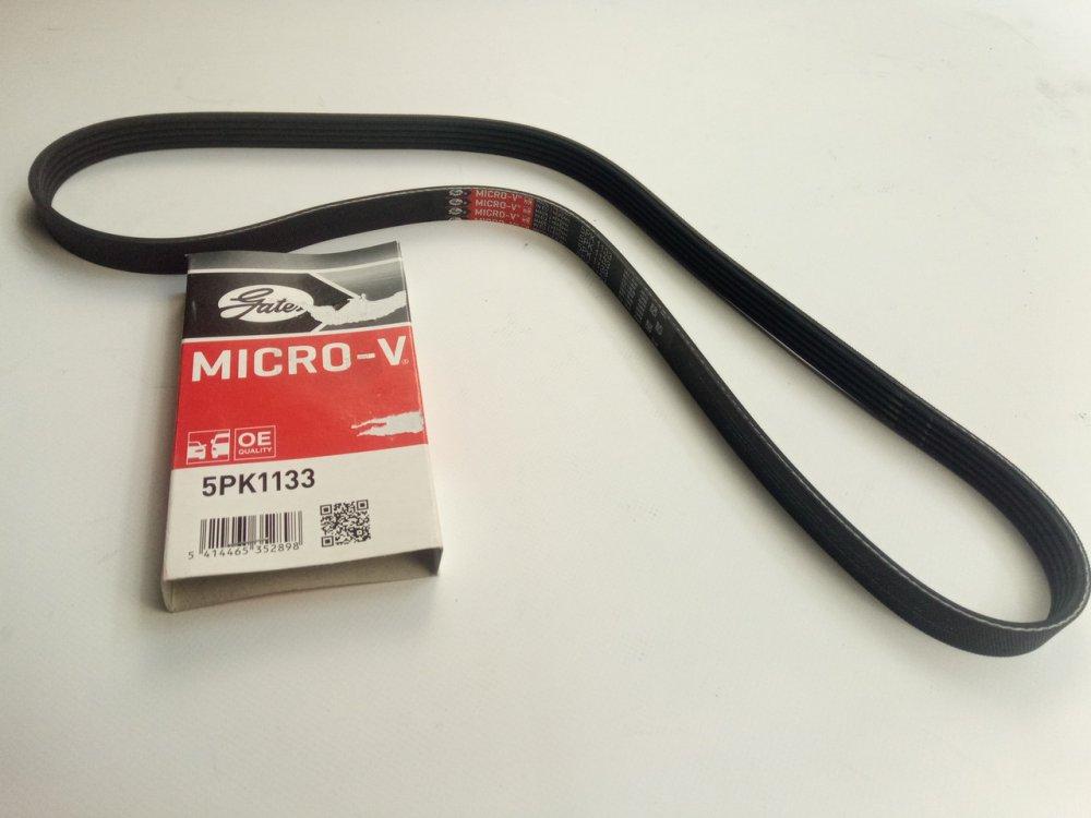 Купить Ремень генератора ручейковый Kangoo 1.5 dCi (без конд.), Gates (5PK1133)