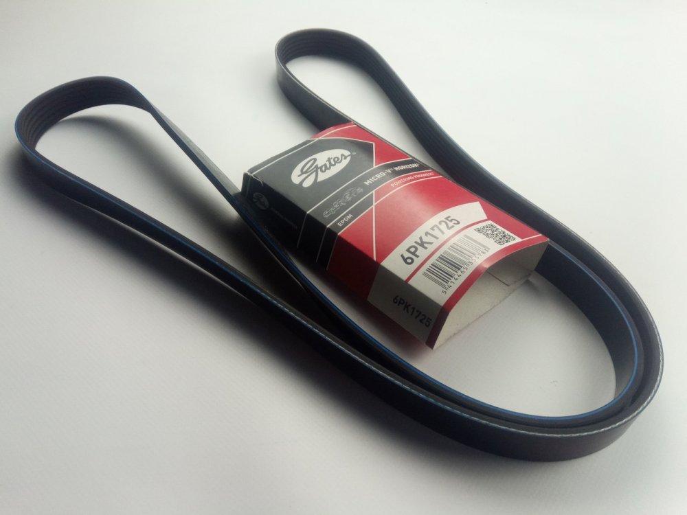 Купить Ремень генератора ручейковый Lacetti 1.6-1.8, GATES (6PK1725)