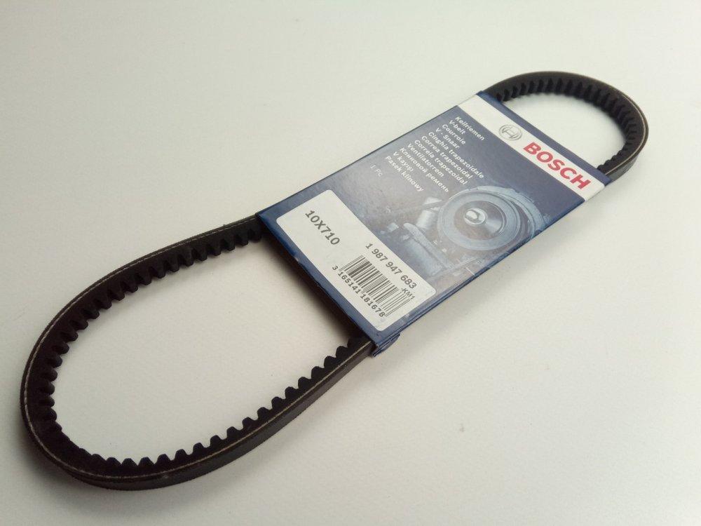 Купить Ремень генератора ВАЗ 2108 зубчатый, 710, BOSCH (1987947683)