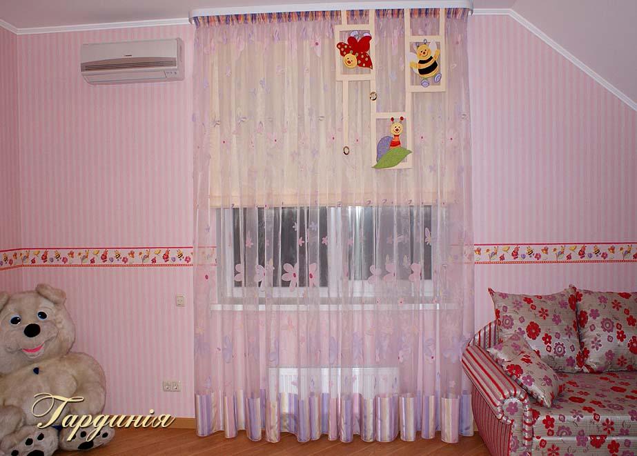Тюль для детской комнаты, Ткани дизайнерские, широкий выбор разнообразных тканей от ведущих производителей.
